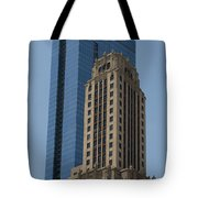 Old And New Architecture Tote Bag