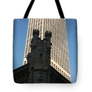 Old And New In The Windy City Tote Bag