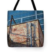 Old And New Los Angeles Tote Bag