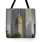Old And New Nyc Tote Bag