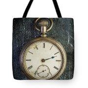 Old Antique Pocket Watch Tote Bag