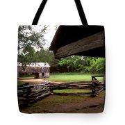 Old Appalachian Barn Yard Tote Bag