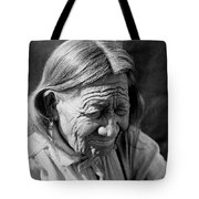 Old Arapaho Man Circa 1910 Tote Bag by Aged Pixel