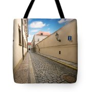 Old Architecture In Prague Tote Bag