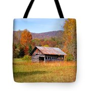 Old Barn Along Slick Fisher Road Tote Bag