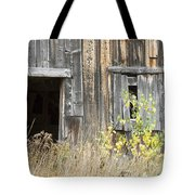 Old Barn In Fall Maine Tote Bag