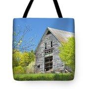 Old Barn In Spring Maine Tote Bag