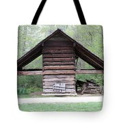 Old Barn In The Woods Tote Bag