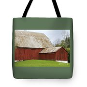 Old Barn Tote Bag by Kathy DesJardins