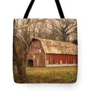 Old Barn Near Rhineland Mo Dsc09267 Tote Bag