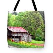 Old Barn Near Willamson Creek Tote Bag