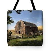 Old Barn On The Palouse Tote Bag