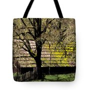 Old Barn Tote Bag by Ron Sanford