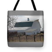Old Barn With New Roof Tote Bag