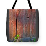 Old Barn Wood Tote Bag