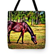 Old Bay Horse Tote Bag