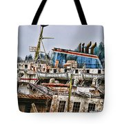 Old B.c. Ferry Tote Bag