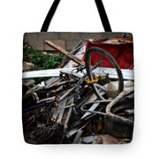 Old Bikes - Series I Tote Bag