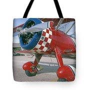 Old Biplane V Tote Bag