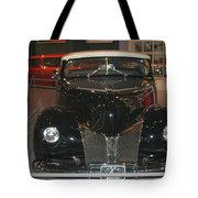 Old Black And White Hardtop Tote Bag