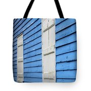 Old Blue House Tote Bag