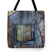 Old Blue Shack Tote Bag