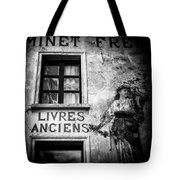 Old Books Tote Bag by Dave Bowman