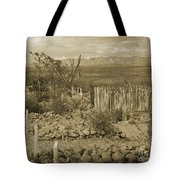 Old Boothill Cemetery Tote Bag