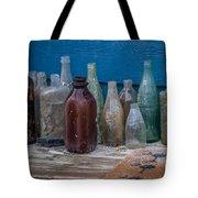 Old Bottles Tote Bag