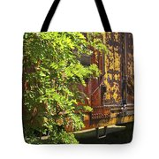 Old Boxcar Dying Slowly Tote Bag