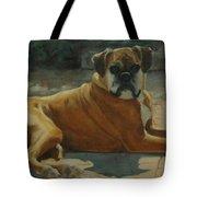 Old Boxer Tote Bag