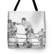 Old Boxing Old Time Tote Bag
