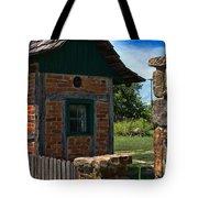 Old Brick Shed Tote Bag