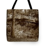 Old Bridge In Summer Tote Bag