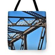 Old Bridge Structure Tote Bag