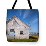 Old Building In North Rustico Tote Bag
