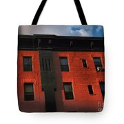 Brownstone 1 - Old Buildings And Architecture Of New York City Tote Bag