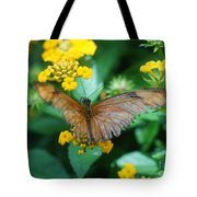 Old Butterfly Tote Bag