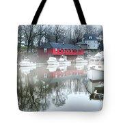 Old Byram River Tote Bag
