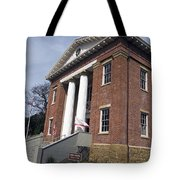 Old California State Capitol Building Benicia Tote Bag