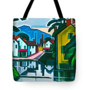 Old Canal Port Tote Bag
