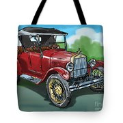 Old Car 04 Tote Bag