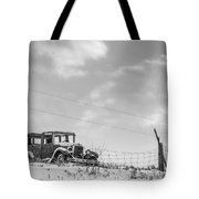 Old Car Tote Bag
