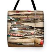 Old Cardboard Boxes  Tote Bag