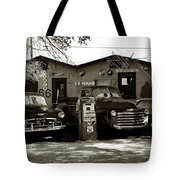 Old Cars On Route 66 Tote Bag