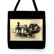 Old Case Thresher Tote Bag
