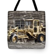 Old Cat Grader Tote Bag