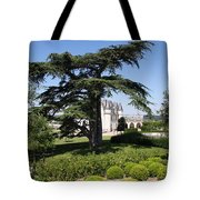 Old Cedar At Chateau Amboise Tote Bag