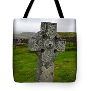 Old Cemetery Stones In Scotland Tote Bag