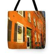 Old Charestown Neighborhood Tote Bag